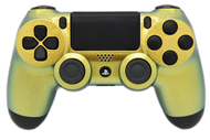 Gold Chameleon PS4 Controller | PS4