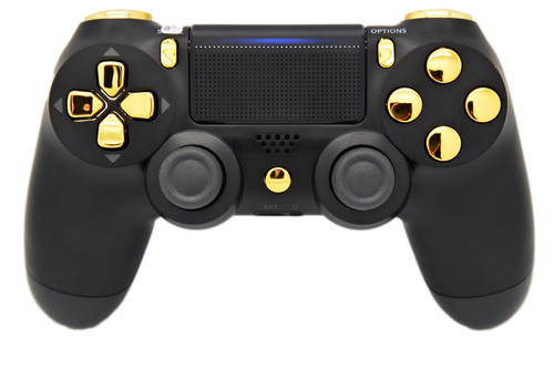 Black & Gold Controller   PS4
