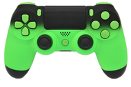 Green & Black Fade PS4 Controller | PS4