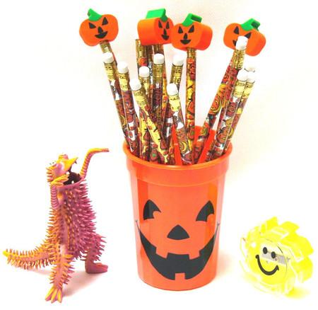Halloween Round Pencils