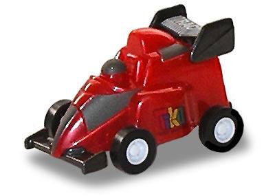 Pull-back Race Car plastic sharpeners are way cool! Sold individually. Available in assorted colors that we will try to match to your pencils. Very limited quantities available.