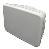 "Scanpod Slim Helm Pod - Up to 12"" Display - White  [SPH-12-W]"