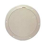 "Beckson 6"" Non-Skid Pry-Out Deck Plate - Beige  [DP63-N]"
