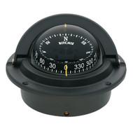 Ritchie F-83 Voyager Compass - Flush Mount - Black  [F-83]