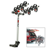 ROLA Bike Carrier - TX w/Tilt & Security - Hitch Mount - 4-Bike  [59401]