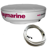 Raymarine RD424HD 4kW Digital Radar Dome w/10M Cable  [T70169]
