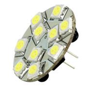 Lunasea G4 10 Back Pin LED Light Bulb - 12VAC or 10-30VDC/2W/140 Lumens - Warm White  [LLB-21UW-21-00]