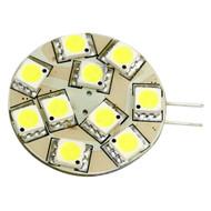 Lunasea G4 12 LED Side Pin Light Bulb - 12VAC or 10-30VDC 2W/140 Lumens - Warm White  [LLB-21TW-21-00]