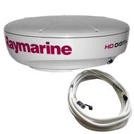 Raymarine RD418HD Hi-Def Digital Radar Dome w/10M Cable  [T70168]