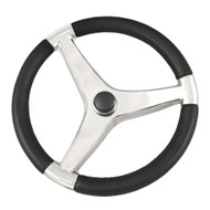 "Ongaro Evo Pro 316 Cast Stainless Steel Steering Wheel - 13.5""Diameter  [7241321FG]"