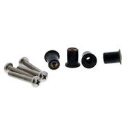 Scotty 133-4 Well Nut Mounting Kit - 4 Pack  [133-4]