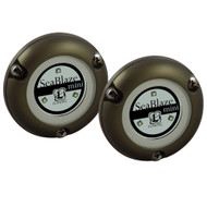 Lumitec SeaBlaze Mini Underwater Light - Pair - Brushed Finish - White Non Dimming  [101245]