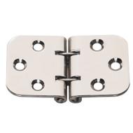 Whitecap Flush Mount 2-Pin Hinge - 304 Stainless Steel - 2-13/16 x 1-9/16  [S-3705]