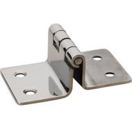 """Whitecap Folding Seat Hinge - 304 Stainless Steel - 2"""" x 3-3/16""""  [S-3444]"""