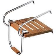 Whitecap Teak Swim Platform w/Ladder f/Inboard/Outboard Motors  [60903]