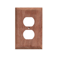 Whitecap Teak Outlet Cover/Receptacle Plate - 2 Pack  [60170]