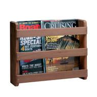 Whitecap Teak Magazine/Utility Rack  [62504]