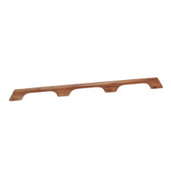 "Whitecap Teak Handrail - 3 Loops - 33""L  [60104]"