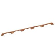 "Whitecap Teak Handrail - 5 Loops - 53""L  [60108]"