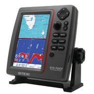 SI-TEX SVS-760CF Dual Frequency Chartplotter/Sounder w/ Navionics+ Flexible Coverage  [SVS-760CF]