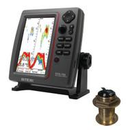 SI-TEX SVS-760 Dual Frequency Sounder 600W Kit w/Bronze 12 Degree Transducer  [SVS-760B60-12]