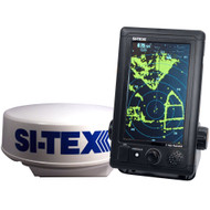 "SI-TEX T-760 Compact Color Radar w/4kW 18"" Dome - 7"" Touchscreen  [T-760]"