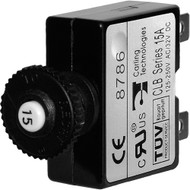 Blue Sea 7056 15A Push Button Thermal with Quick Connect Terminals  [7056]