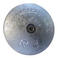 """Tecnoseal R3MG Rudder Anode - Magnesium - 3-3/4"""" Diameter  [R3MG]"""