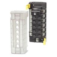 Blue Sea 5052 ST CLB Circuit Breaker Block - 6 Position w/Negative Bus  [5052]
