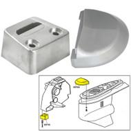 Tecnoseal Anode Kit w/Hardware - Volvo SX - Aluminum  [20708AL]