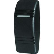 Blue Sea 8294 Contura Switch Actuator - Black - Single Lens  [8294]