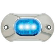 Attwood Light Armor Underwater LED Light - 3 LEDs - Blue  [65UW03B-7]