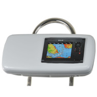 "NavPod GP1040-07 SystemPod Pre-Cut f/Simrad NSS7 or B&G Zeus Touch 7 & Space On The Left f/9.5"" Wide Guard  [GP1040-07]"