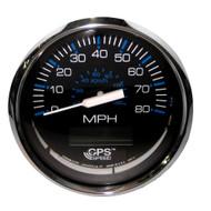 "Faria Chesapeake Black SS 4"" Speedometer - 80MPH (GPS)  [33730]"