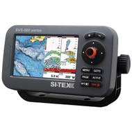 """SI-TEX SVS-560CF-E Chartplotter - 5"""" Color Screen w/External GPS & Navionics+ Flexible Coverage  [SVS-560CF-E]"""