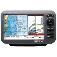 "SI-TEX SVS-1010CF-E 10"" Chartplotter/Sounder Combo w/External GPS Antenna & Navionics+ Card  [SVS-1010CF-E]"