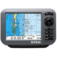 "SI-TEX SVS-880C 8"" Chartplotter w/Internal GPS Antenna & Navionics+ Card  [SVS-880C]"