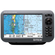 "SI-TEX SVS-1010C 10"" Chartplotter w/Internal GPS Antenna & Navionics+ Card  [SVS-1010C]"