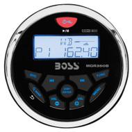 Boss Audio MGR350B Marine Gauge Style Radio - MP3/CD/AM/FM/RDS Receiver  [MGR350B]