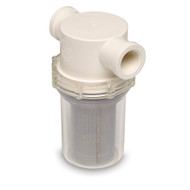 "SHURFLO 1/2"" Raw Water Strainer - 50 Mesh Screen  [253-120-01]"