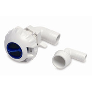 "SHURFLO Livewell Fill Valve w/3/4"" & 1-1/8"" Fittings  [330-021]"