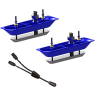 Navico StructureScanHD Sonar Stainless Steel Thru-Hull Transducer (Pair) w/Y-Cable  [000-11460-001]
