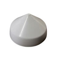 "Monarch White Cone Piling Cap - 8.5""  [WCPC-8.5]"