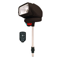 Golight Gobee Stanchion Mount Black with Wireless Remote