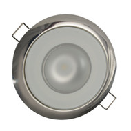 Lumitec Mirage Flush Mount Down Light Spectrum RGBW - Polished Bezel  [113117]