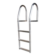 Dock Edge Fixed Eco - Weld Free Aluminum 3-Step Dock Ladder  [2073-F]