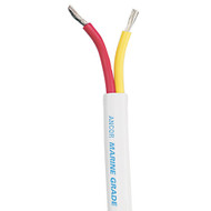 Ancor Safety Duplex Cable - 10\/2 AWG - Red\/Yellow - Flat - 25'  [124102]