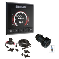 Simrad IS42 Speed\/Depth Pack - IS42 Digital Display, DST800 Ducer & N2k Backbone Starter Kit  [000-13293-001]