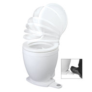 Jabsco Lite Flush Electric 12V Toilet w\/Footswitch  [58500-0012]