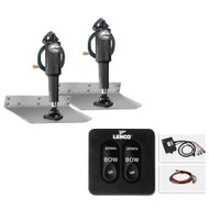 "Lenco 9"" x 36"" Standard Trim Tab Kit w\/Standard Tactile Switch Kit 12V  [TT9X36]"